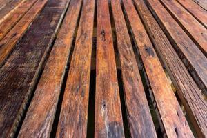houten lattenvloer voor achtergrond