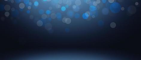 zachte blauwe bokeh achtergrond foto