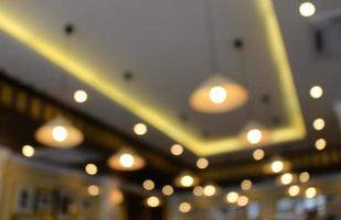wazig plafondverlichting foto