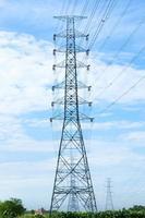hoogspanningstorens in Thailand