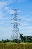 hoogspanningstoren in Thailand