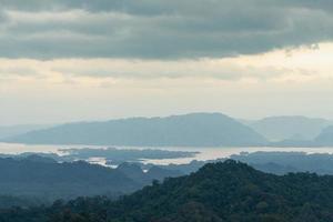 boslandschap in Thailand foto