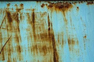 oude ijzeren poort met roest foto