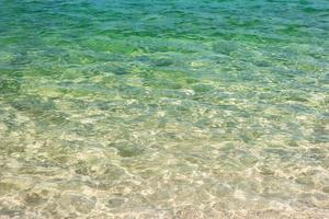 oceaanwater voor achtergrond foto