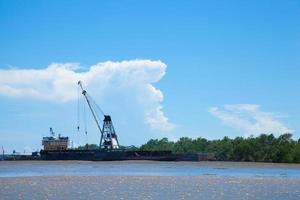 groot vrachtschip foto