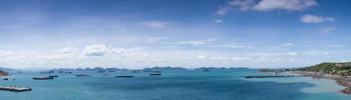 schepen op zee foto