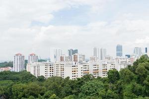 stadsgezicht in Singapore foto