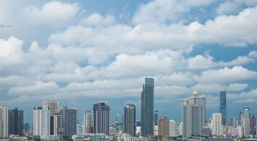 gebouwen in het centrum van bangkok foto