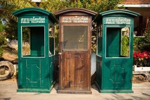 oude telefooncellen