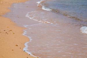 strand en zee foto