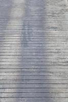 oppervlak van het houten pad