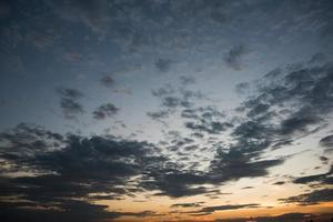 prachtige avondrood foto