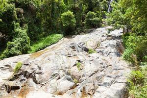 Rive en rotsen op Koh Samui, Thailand foto