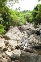 rivier op koh samui, thailand foto