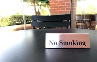 "Verboden te roken ""bordje"