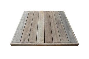 houten tafelblad foto