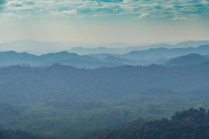 bossen en bergen in Thailand