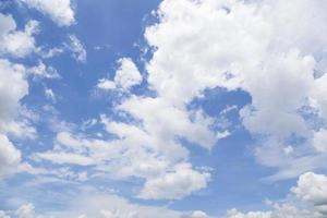 wolken in de lucht