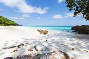 rotsen op het strand in phuket