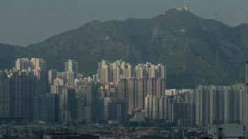 woonwijk in hong kong foto