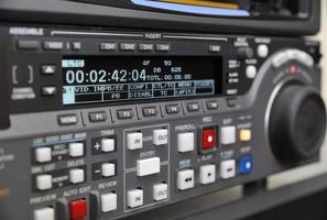 close-up van videorecorder