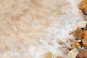 golven op het strand