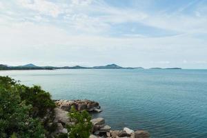kust van koh samui in thailand foto