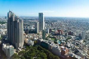 stadsgezicht van de stad Tokio foto