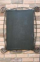 zwart leeg schoolbord