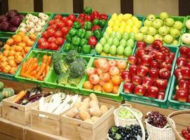 fruit in de markt foto