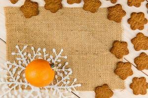 mandarijnen met peperkoekkoekjes