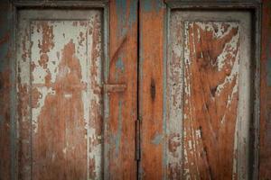 oude houten deur foto