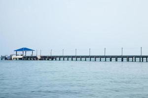 pier in thailand foto