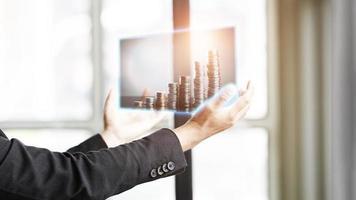 zakelijke financiële analyse foto