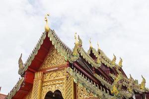 tempel in Thailand foto