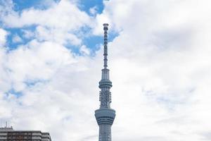 tokyo sky tree in tokyo, japan foto
