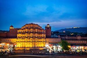 hawa mahal in jaipur, rajasthan, india