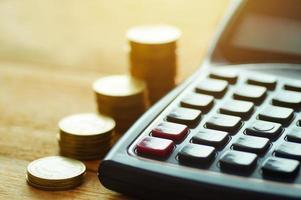 financiën en boekhoudkundig concept
