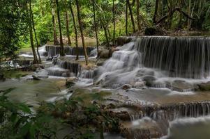 watervallen in Thailand foto