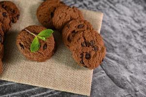 koekjes op een doek