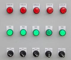 elektronisch bedieningspaneel