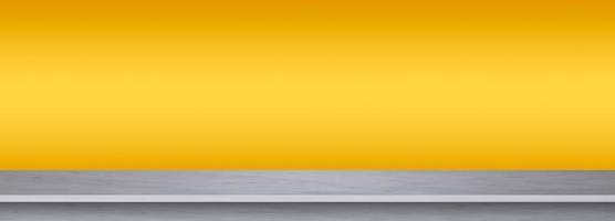 witte marmeren textuur op gele achtergrond foto