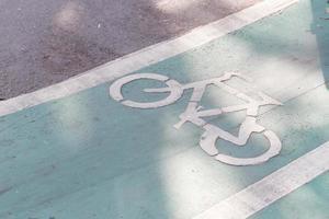 fietspad teken foto