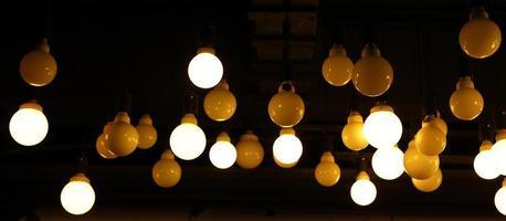decoratieve vintage lampen in een huis