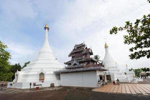wat phra that doi kong mu tempel in thailand foto