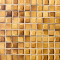 gele en bruine muurachtergrond foto