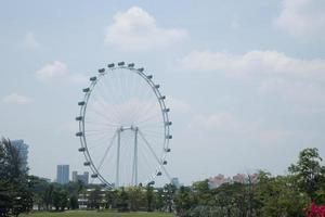 singapore flyer in singapore