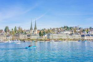 historisch centrum van luzern, zwitserland, 2018