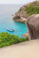 uitzichtpunt op similan eiland, phuket, thailand