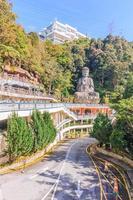 Boeddhabeeld bij Chin Swee Caves Temple in Pahang, Maleisië